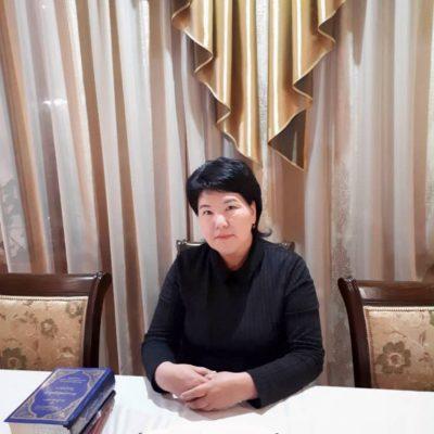 Чыныбекова Гүлбара Разиловна