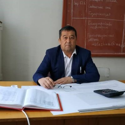 (Русский) Жээнбеков Кубанычбек Рысмаматович