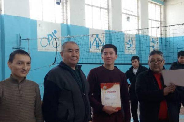 (Русский) Чемпионат по волейболу среди студентов  посвященный  90-летию